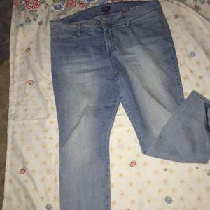 NYDJ Light wash jeans